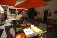 Terrasse Restaurant Hotel Monetier les Bains